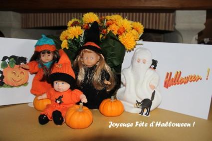 poupées 20 cm,halloween,tricot,modèles